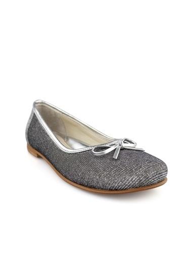 Cici Bebe Ayakkabı Kız Çocuk Babet Gümüş